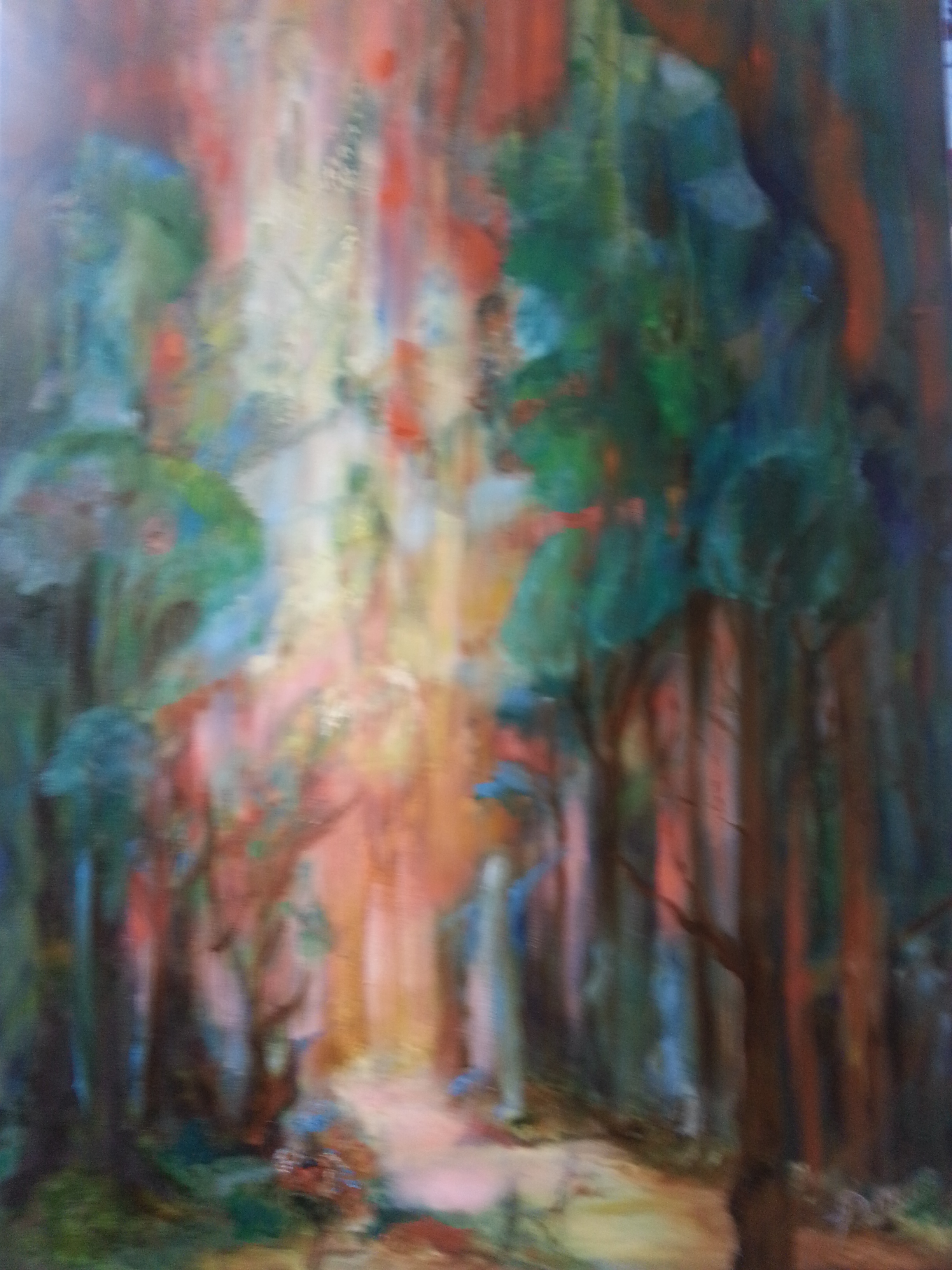 Forest Dance 30x40-orig. avail.-prints